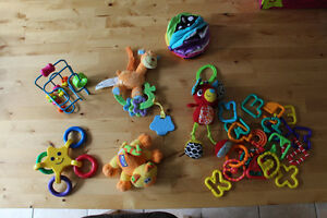 Lot 3 of Baby Toys Gender Neutral all in great shape as shown