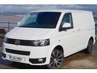 2013 VW TRANSPORTER T5 102 TDi SWB NO VAT SPORTLINE KIT T5.1 GP T28 CANDY WHITE