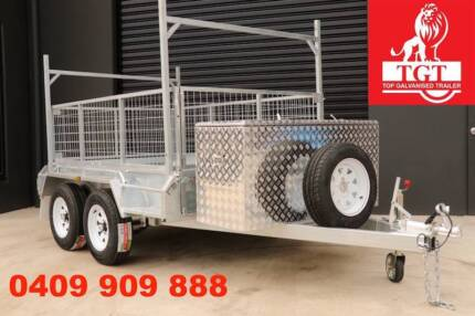 10x5 Box Trailer With Ladder Racks Holders Hot Dip Galvanised Ivanhoe Banyule Area Preview