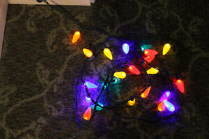 Multi-Color LED Outdoor holiday lights