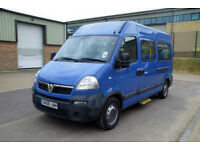 Vauxhall/Opel Movano 2.5CDTI MWB High Roof Wheelchair Accessible Vehicle