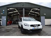 2011 Nissan Qashqai 1.5dCi Puredrive 2WD Visia DIESEL MANUAL WHITE LOW MILLAGE