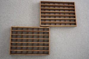 Two Antique Vintage WOOD Floor / Wall/ Vent/ AIR Grates/ Shelf