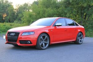 2011 AUDI S4 IN BILLIANT RED, LOW KM, ONE OF A KIND!!!!