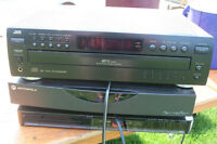 5 PIECES OF STEREO EQUIPMENT-ALL WORKING-$30.00