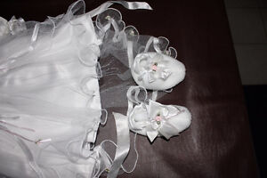 Brand new baptism outfit for baby girl Cambridge Kitchener Area image 3