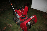 Honda Snowblower - Used Only 1 Year (LIKE NEW)