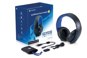 Playstation Gold Headset