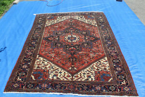 10.7F BY  7.4F Wool Pile Handwoven Persian Rug