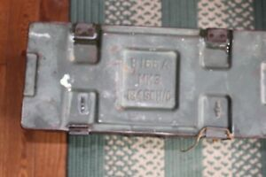 WW11 ORIGINAL AMMO BOX