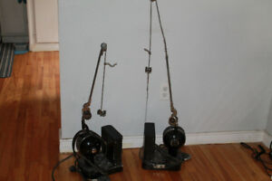 Antique dental motors