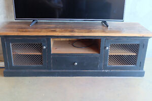 Reclaimed Wood Entertainment Unit