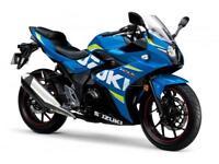2018 SUZUKI GSX-R250 MOTO [Website URL removed] WITH 3% APR.
