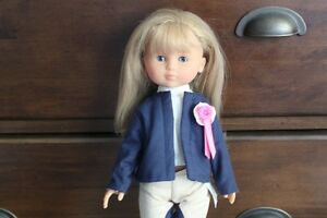 Corolle Les Cheries doll Camille Equestrienne Doll - I Ship