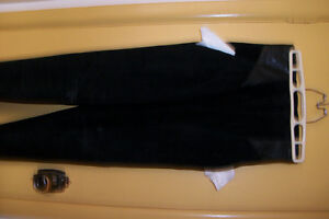 Danier-Black-Suede Dress Pants Stratford Kitchener Area image 5