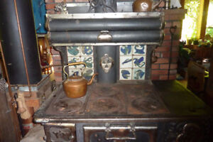 antique wood cook stove
