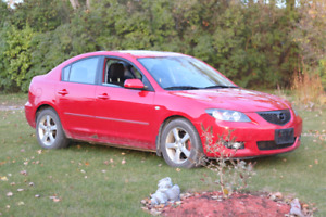 2006 mazda 3 as is
