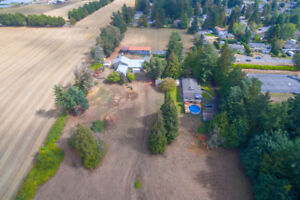 Picturesque 17.5 acre Saanichton farm