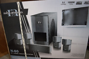 Nolyn Acoustics Home Theater System 5.1- Brand New
