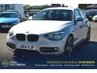 2015 BMW 1 Series 2.0 118D SPORT 5d 141 BHP Hatchback Diesel Manual