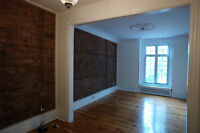 RARE - Large 5 1/2 in Reno'd Victorian on Park in St-Henri