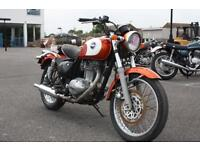 KAWASAKI ESTRELLA CLASSIC BJ250A, 1997, WHITE/ORANGE, RARE JAPANESE IMPORT