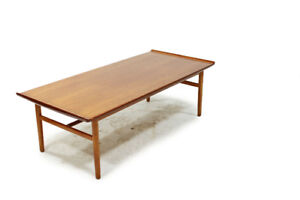 Mid Century Teak Coffee Table Made in Sweden