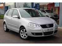 2009 VOLKSWAGEN POLO 1.4 Match 80 LOW MILES, ALLOYS, AIR CON and 1 OWNER