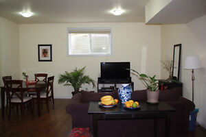 Furnished Executive Two Bed Room Legal Suite Separate Entrance