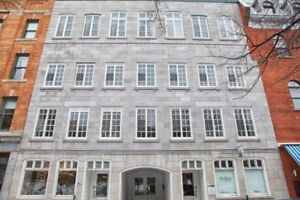 Loft in Old Montreal 1331 sq.ft. For Rent