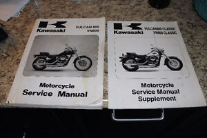 Kawasaki Vulcan 800 service manual ( Genuine)