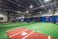 Indoor Batting Cages & Turf Rentals