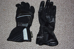 Motorcycle gortex gloves