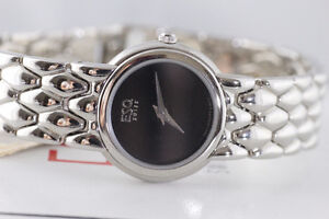 NEW IN BOX MOVADO-ESQ BLACK ONYX DIAL LADY'S WATCH FOR SALE
