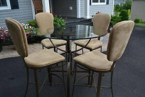 Pub Style Breakfast Table and Chairs