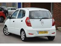 2013 Hyundai i10 1.2 Classic Petrol white Manual