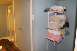 Large room with attached bathroom and shared living space Peterborough Peterborough Area image 5