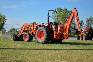 NEW - Kioti DK 4510 HS tractor with loader and backhoe