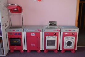 Girl's Pink Play Kitchen