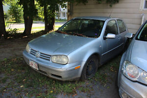 2001 VW Golf Mk4 for PARTS!