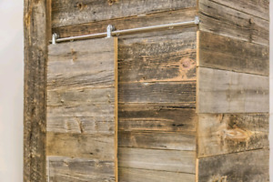 Architectural Barn Wood and Installation