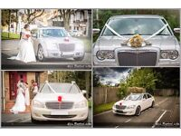 WEDDING CAR HIRE | Baby Bentley | Mercedes | Chrysler | London £100