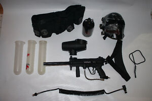 Tippmann A5 Paintball Setup