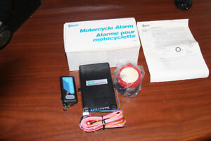 QUORUM MOTORCYCLE ALARM SYSTEM  WITH AUTO START
