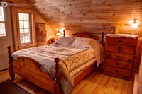 WINTER PARADISE WATERFRONT LOG COTTAGE IN MUSKOKA for rent