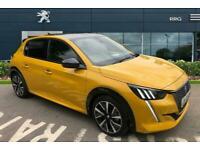 2021 Peugeot 208 1.2 PureTech GT EAT (s/s) 5dr Auto Hatchback Petrol Automatic