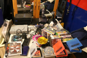 Vintage gaming nintendo ps2 ps1 games controllers estate  sale