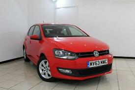 2013 63 VOLKSWAGEN POLO 1.2 MATCH EDITION 5DR 59 BHP