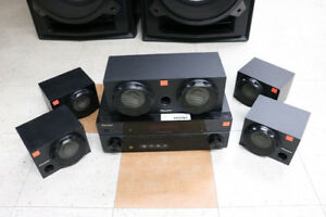 **HOME THEATER** Pioneer SX-319V-K Receiver w/ 5 Speakers -15887