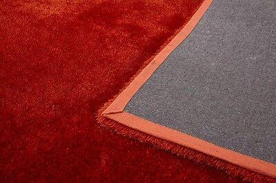 New Modern Thick Soft Plain Silky Shag Pile Rug Luxurious High Quality Rugs Uk